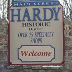 Main Street Hardy Sign
